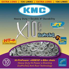 KMC X-10e E-Bike EPT ketjut 10-vaihteinen , hopea